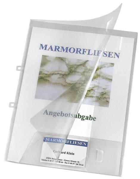 VELOFLEX Präsentationsmappe transp. 4441290