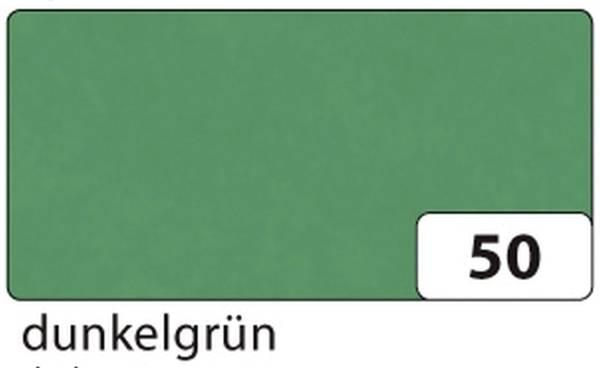 FOLIA Transparentpapier dunkelgrün 88120-50 Rl 70x100 42g
