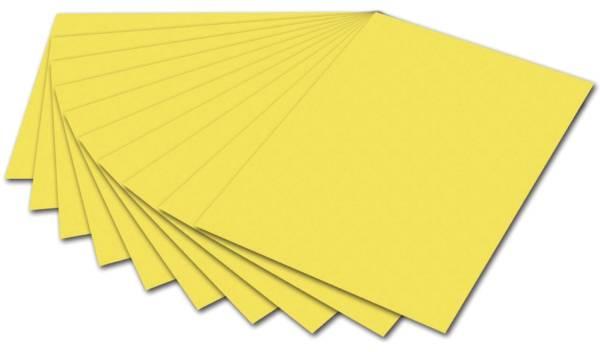 Tonpapier 50 x 70 cm, zitronengelb