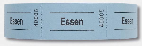 """Gutscheinrolle """"Essen"""" rot"""