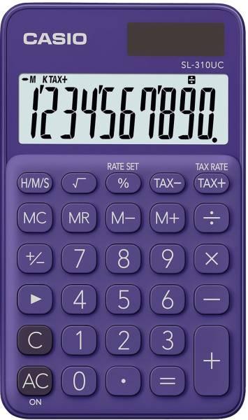 CASIO Taschenrechner 10-stellig lila SL-310UC-PL