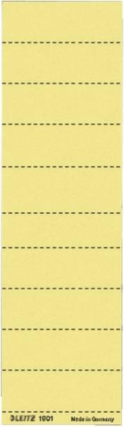 LEITZ Beschriftungsschild gelb 1901-00-15 100ST
