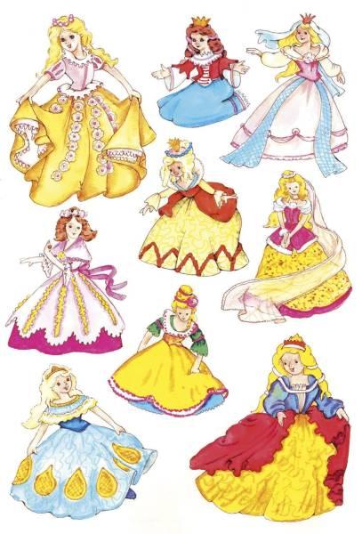 3461 Sticker DECOR Prinzessin