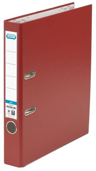 Ordner smart Pro (PP Papier) A4, 50 mm, rot