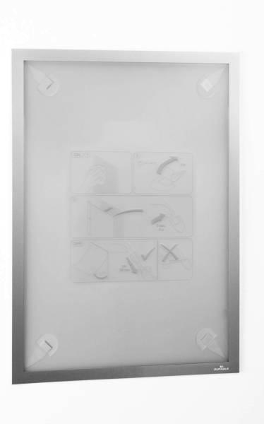 Informationsrahmen DURAFRAME WALLPAPER A3, 323 x 446 mm, silber®