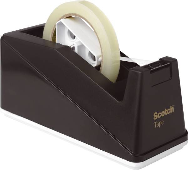 Tischabroller C10 Klebefilm bis Bandgröße 66 m x 25 mm, schwarz