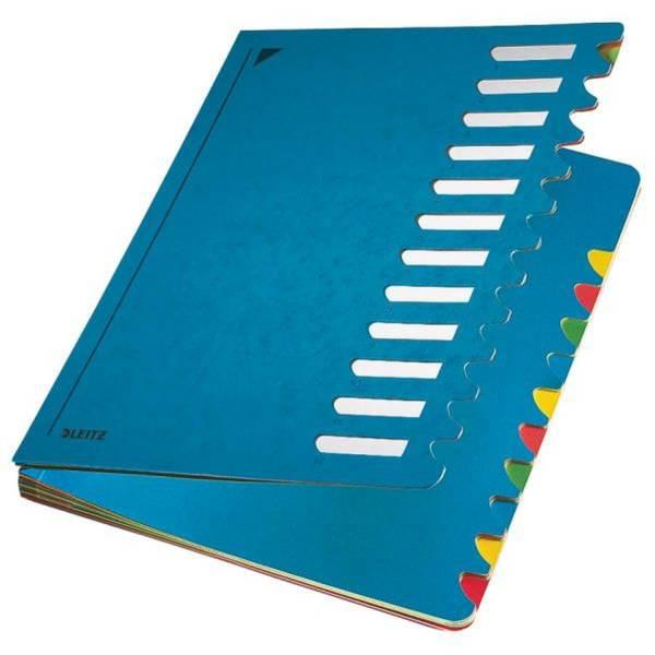 5912 Deskorganizer Color 1 12 12 Fächer, Karton, blau