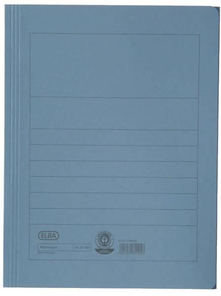Aktenmappe, Manilakarton (RC), 250 g qm, A4, 15 mm, blau