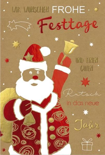 Weihnachtskarte 2375 Bild