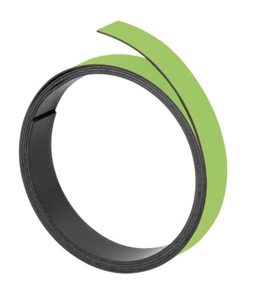 FRANKEN Magnetband hellgrün M801 19/1mx5mm