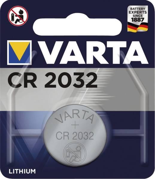VARTA Batterie Knopf Lithium 3,0V 06032101401 CR2032 1St