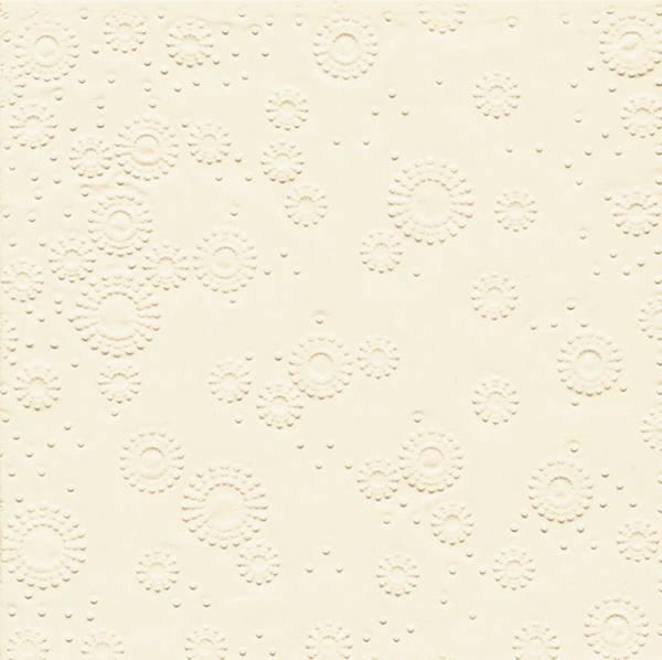 PAPER+DESIGN Serviette Zelltuch cream 24026 33 cm