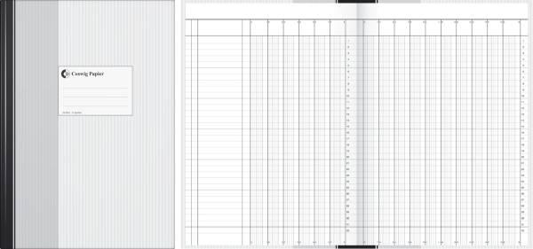 Spaltenbuch 16 Spalten, A4, 96 Blatt
