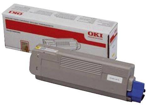 OKI Lasertoner yellow 44315305