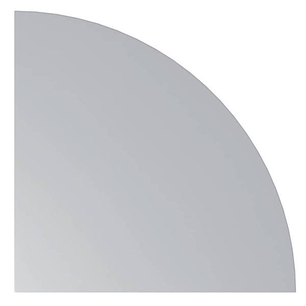 HAMMERBACHER Eckelement Viertelkreis grau VHE91/5 80x80cm