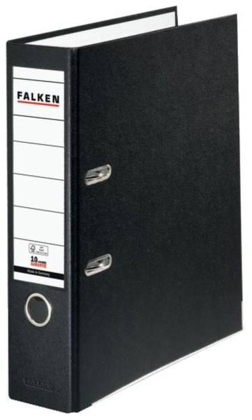 FALKEN Ordner S80 8cm schwarz 9984089 PP-Color
