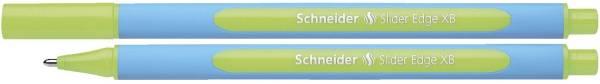 Kugelschreiber Slider Edge Kappenmodell, XB, hellgrün