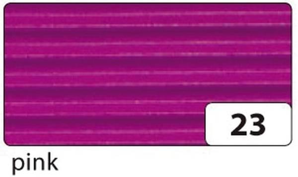 Bastelwellpappe 50 x 70 cm, pink