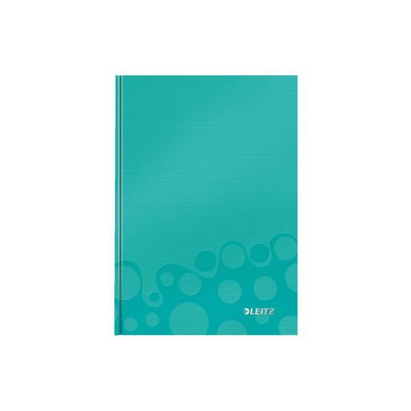 Notizbuch A5 WOW lin eisblau