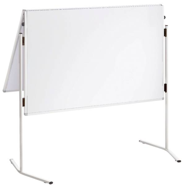 Moderationstafel X tra! Line, 120 x 150 cm, weiß Karton, klappbar