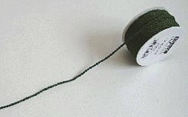 Kordel 3 mm x 25 m, dunkelgrün