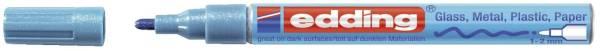 EDDING Lackmalstift Creative hellblau 751-9-070 Metall. 1-2mm