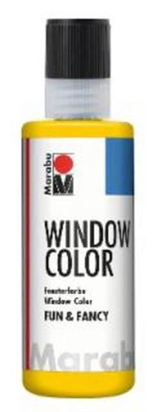 Window Color fun&fancy, Gelb 019, 80 ml