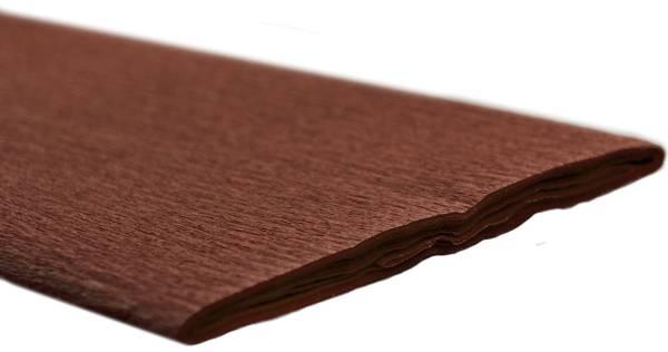 Krepppapier 50 x 250 cm kastanie
