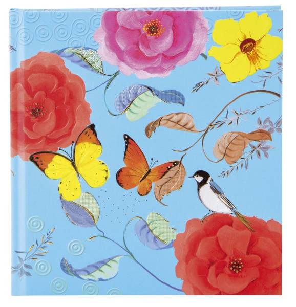 TURNOWSKY Poesiealbum Phantasy blau 42 398 19x18cm