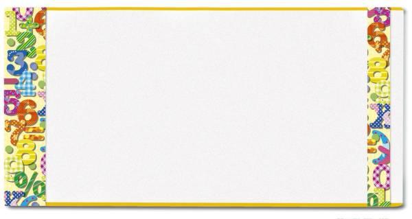 HERMA Buchschoner 270x540mm 25270 Hermäx Zahlen