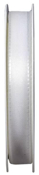 Basic Taftband 15 mm x 50 m, weiß