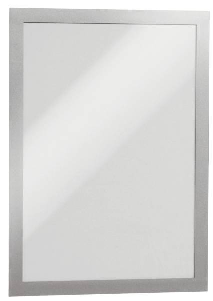 DURABLE Magnetrahmen DURAFRAME® A4 4872 23 sk silber 2 Stück