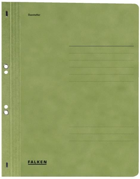 FALKEN Ösenhefter A4 grün 80003890 1/1 Deckel