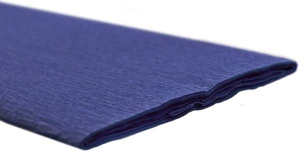 Krepppapier 50 x 250 cm saphirblau