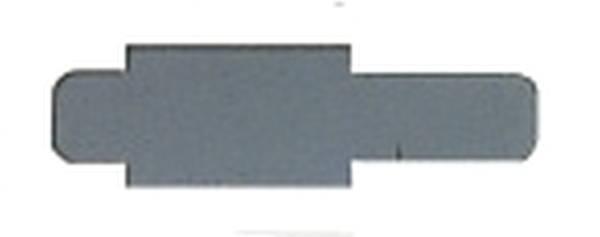 LEITZ Stecksignal 50ST grau 60300085