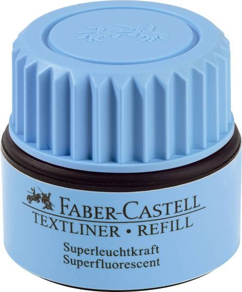 FABER CASTELL Nachfüllflasche blau 154951