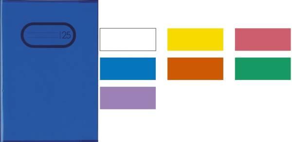 7491 Heftschoner PP A4 transparent gelb