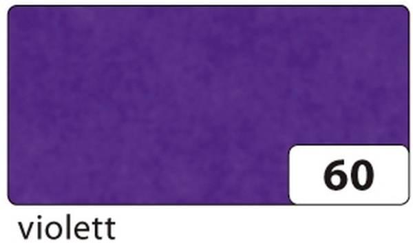 FOLIA Transparentpapier violett 88120-60 Rl 70x100 42g
