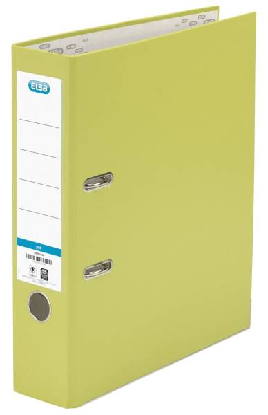 Ordner smart Pro (PP Papier) A4, 80 mm, hellgrün