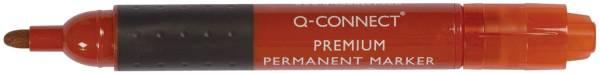 Q-CONNECT Permanentmarker 3mm rot KF26107 Rundspitze