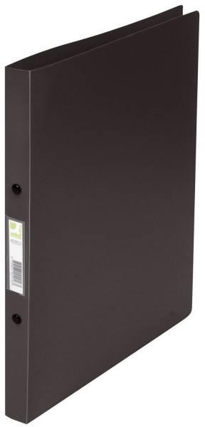 Q-CONNECT Schulordner A4 schwarz KF02915 2 Ring 16mm