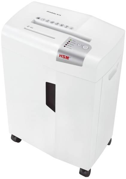 HSM Aktenvernichter Shredstar X13 weiß 1057121 4x37mm