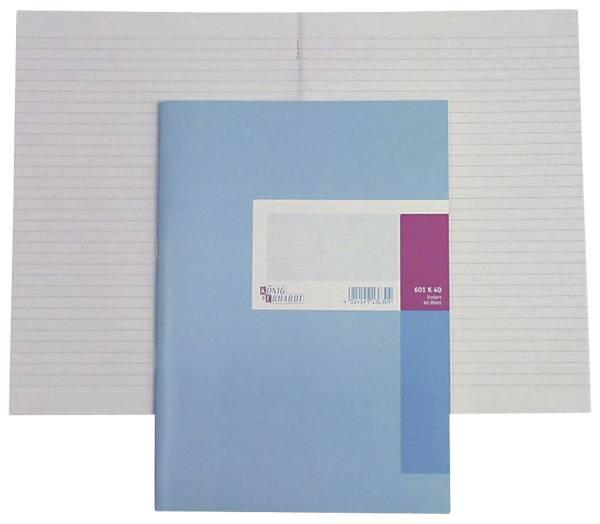 KÖNIG & EBHARDT Geschäftsbuch A5 40BL kariert 86-15211