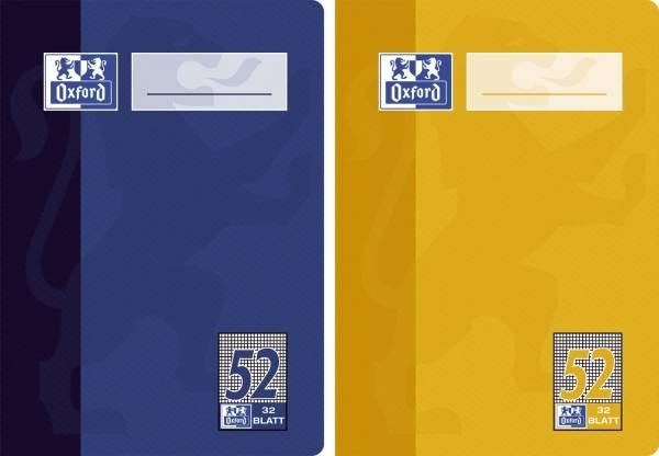 Oktavheft LIN52 A6, 32 Blatt, 90 g qm, kariert