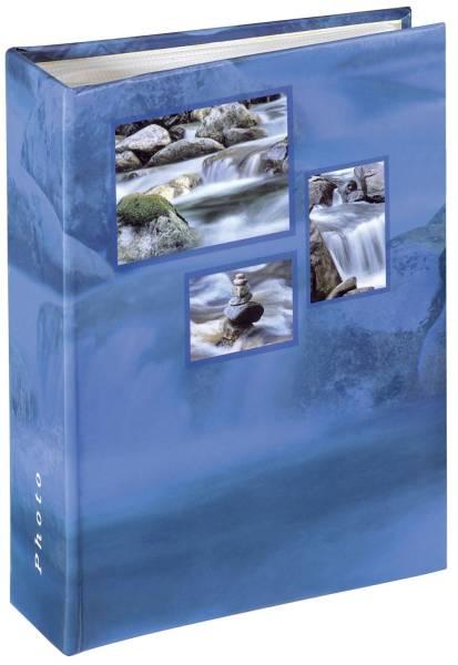 HAMA Einsteckalbum Singo blau 106263 f.10x15cm