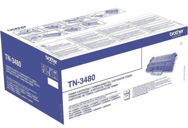BROTHER Lasertoner schwarz TN3480