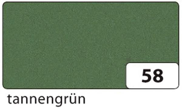 Moosgummi 20 x 29 cm, tannengrün