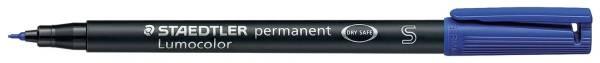 STAEDTLER Folienstift Lumocolor S blau 313-3 permanent
