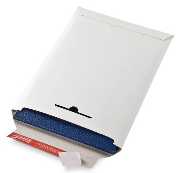 COLOMPAC Versandtasche Vollpappe weiß 30000200 285x370x30mm