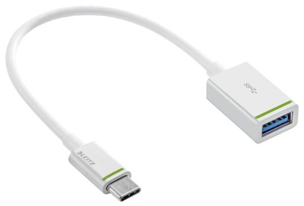 Complete Daten Ladeadapter USB C auf USB A(F) 3 1 15 cm, weiß